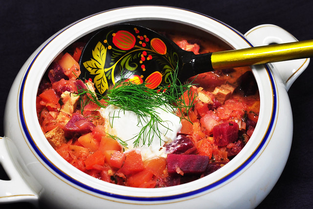 Borschtsch борщ Schtschi щи vegetarisch Gemüse russisch Russland Rußland Suppe Eintopf traditionell klassisch Wintersuppe für kalte Tage Kochblog Fotos Brigitte Stolle