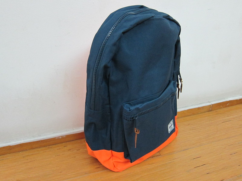 Herschel Supply Settlement Backpack (Navy/Mandarin)