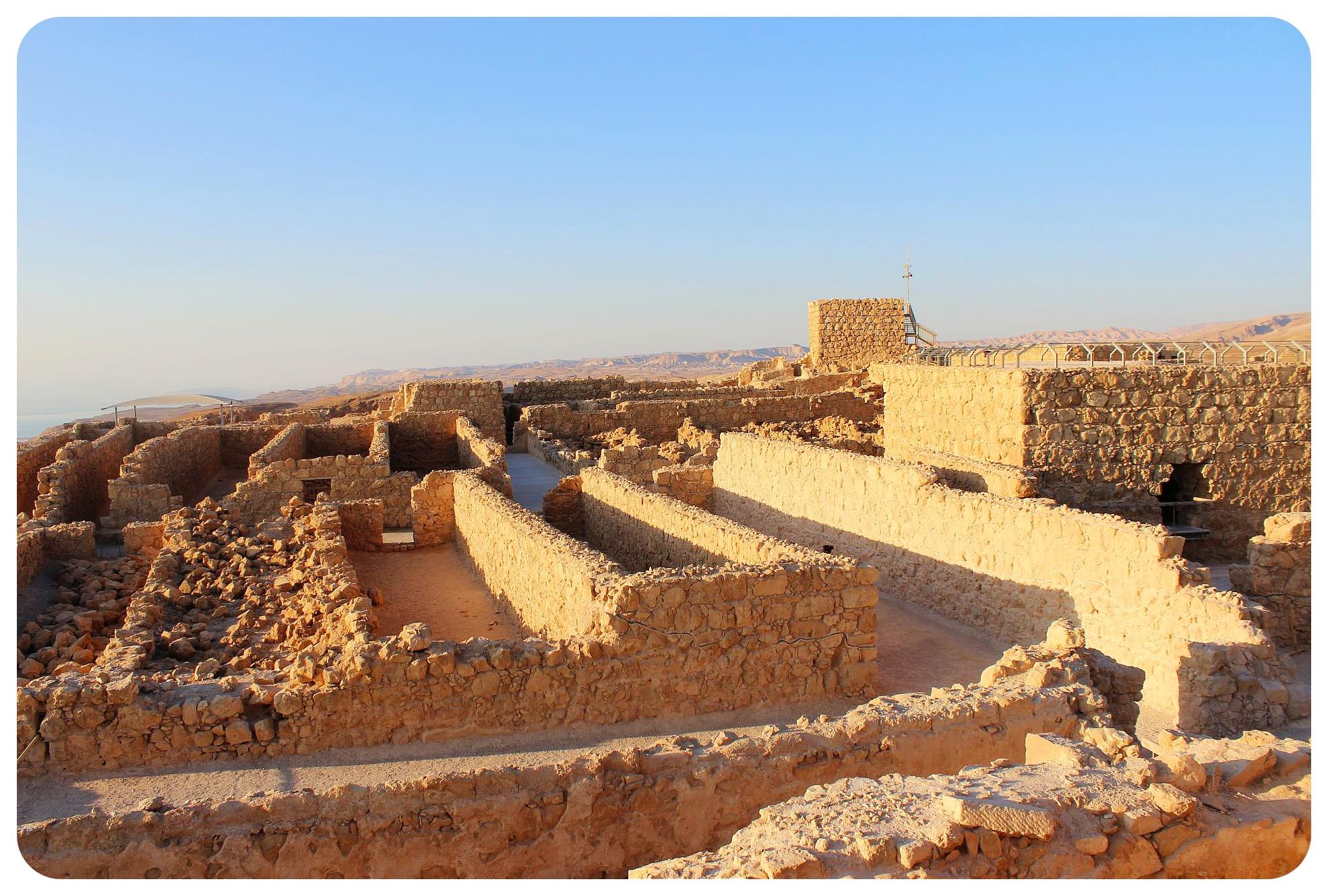 masada israel palace