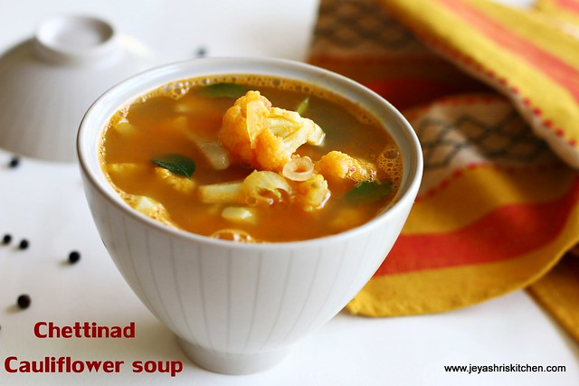 Cauliflower- rasam