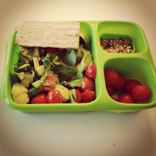 Als dit geen gezonde brooddoos is. #lunchbox #healthy