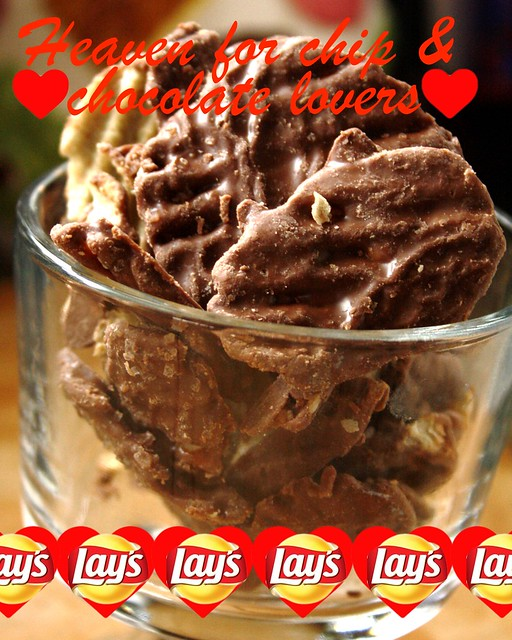 Lay's Wavy Chocolate Covered Potato Chips