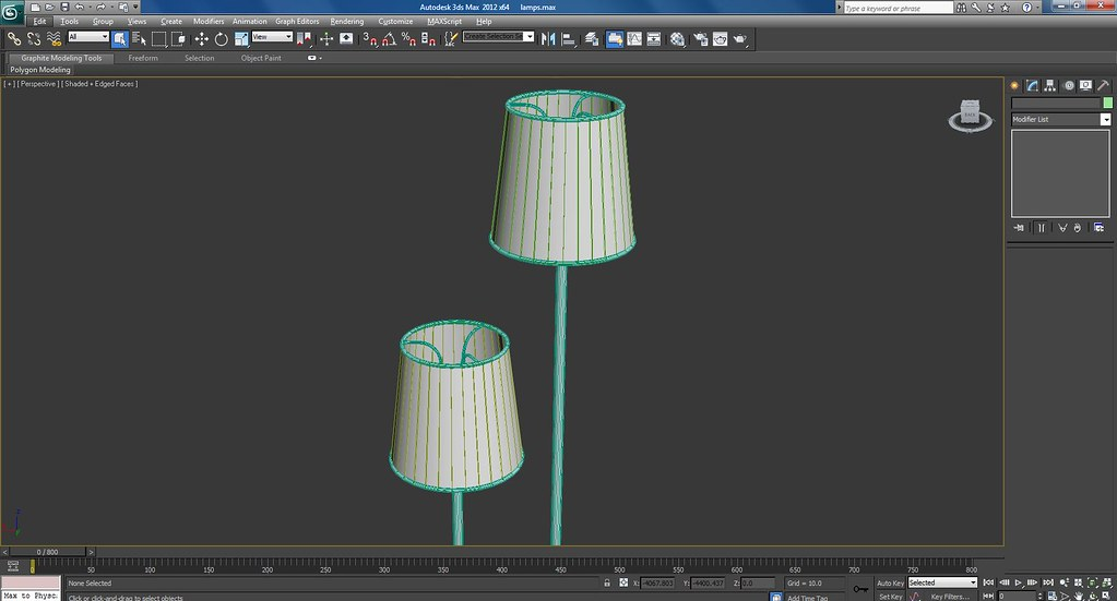 3d Lamps Work In Progress Wire Frame Screenshots