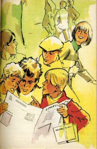 Les Six compagnons dans la Citadelle, by Paul Jacques BONZON