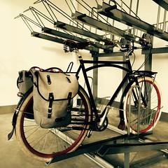 Secure Bike Parking at Vancouver SkyTrain Station