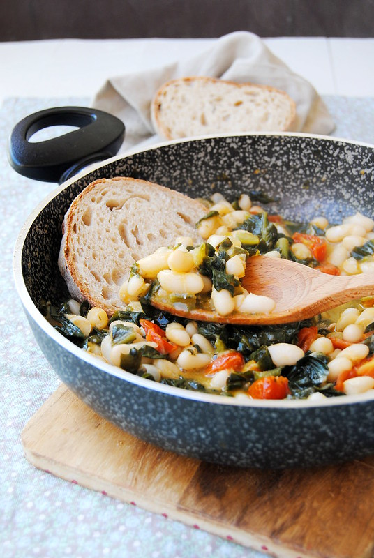 Beans and Chicory Soup