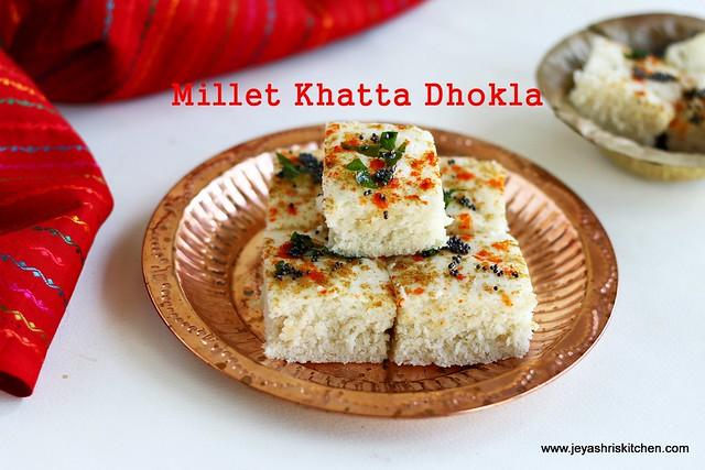 Varagu-Khatta-dhokla