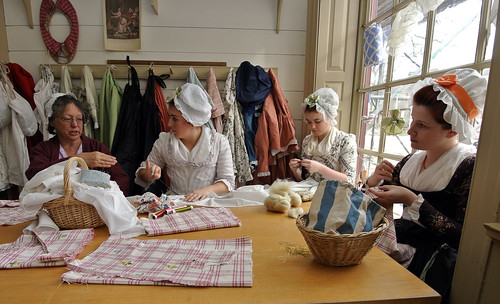 WB Millinery ladies working