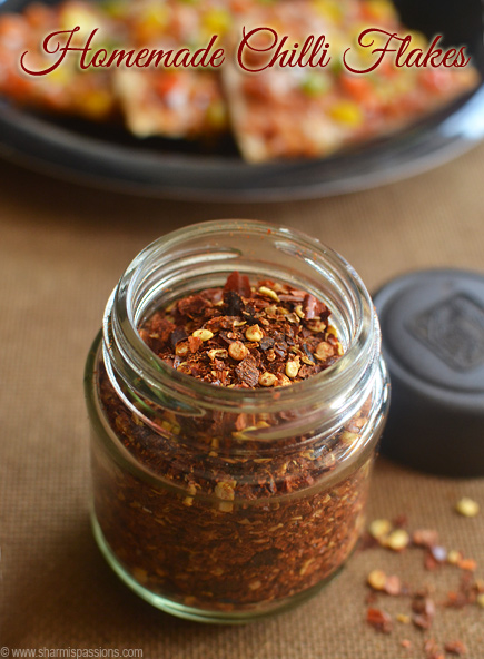 Homemade Chilli Flakes Recipe