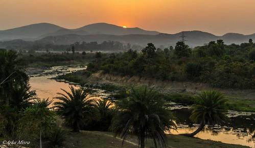sunset ghatshila sunsetphoto subarnarekhariver galudih arkamisra