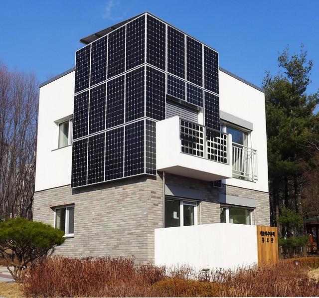 零耗能社區的建築範例