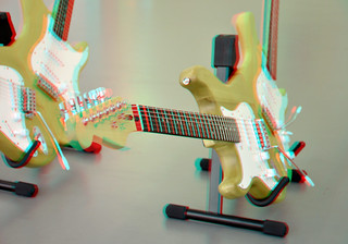 Guitars by HIDDE VAN SCHIE 3D