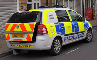 Thames Valley Police Vauxhall Zafira Dog Section - OU60 EOE
