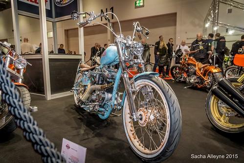 MCN Motorcycle Show 2015 - custom motorcycle