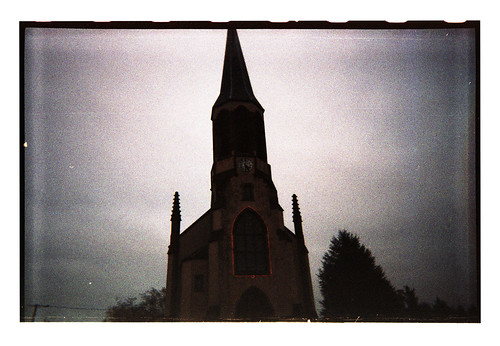 Another Red Thin Line [disposable camera #4]