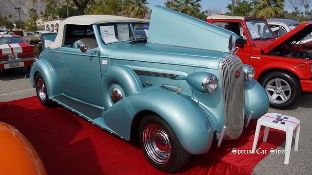 1936 Buick Century Convertible