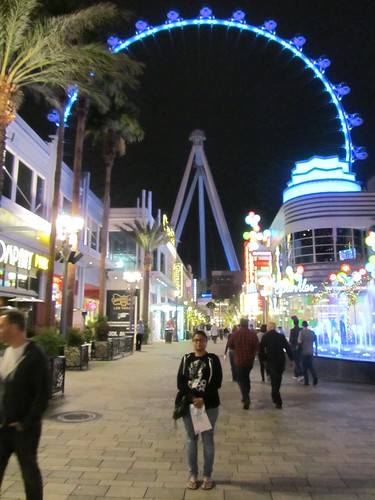Outside the High Roller at The Linq