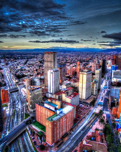 sunset sun color colour set architecture colombia bogota bogotá hdr cundinamarca 3xp 20150202