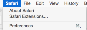 Use Safari With Infusionsoft - Preferences