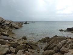 Cala di Sciumara - Ciappili : la côte sous le hameau de Ciappili à l'arrivée du petit sentier