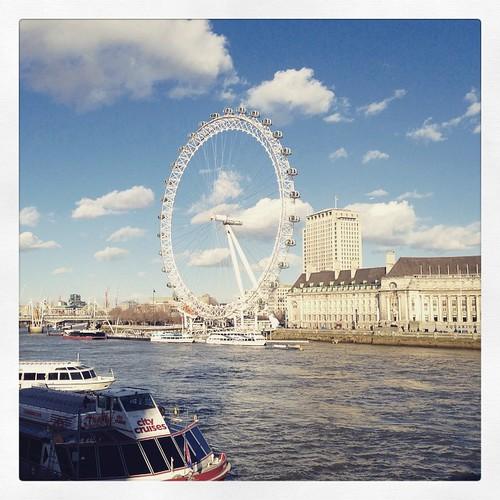 Blue skies #london