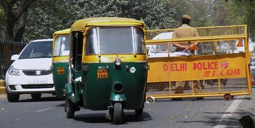 """New Delhi dal libro """"Esperimento con l'India (1975)"""" di Giorgio Manganelli"""