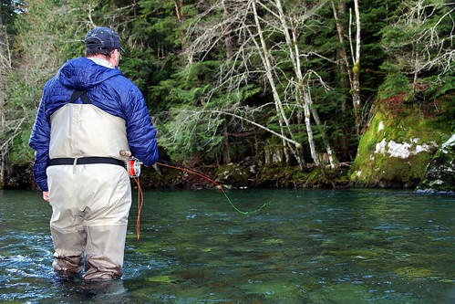 Swinging a Fly on the Cheakamus