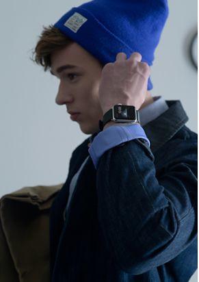 香港ファション誌にもApple Watchを掲載