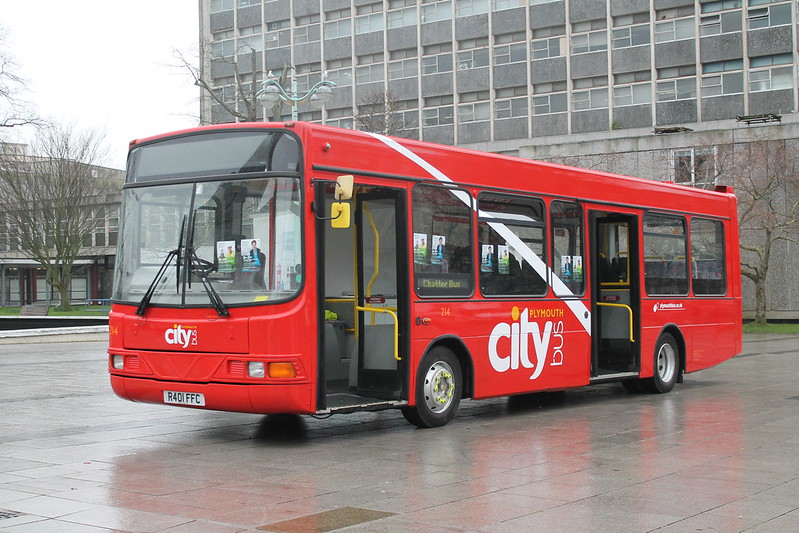 Plymouth Citybus 214 R401FFC