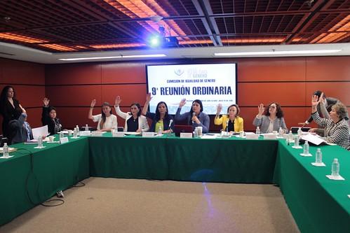 El día 20 de julio del 2016 se llevó a cabo en la H. Cámara de Diputados la novena reunión de trabajo de la Comisión de Igualdad de Género 20/jul/16