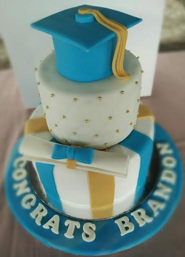 Graduation Cake by Richie Agustin of Sweet Haven