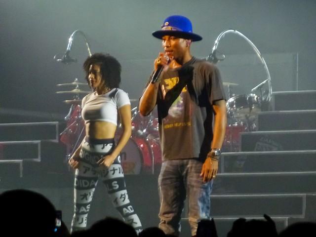 Pharrell Williams - Dear G I R L Tour - Zénith, Paris (2014)