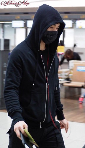 Big Bang - Incheon Airport - 01apr2015 - Dae Sung - NoiizVip - 01