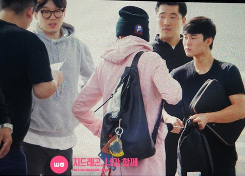 Big Bang - Incheon Airport - 24sep2015 - With G-Dragon - 01