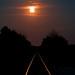 Moonlit Rails by ramseybuckeye