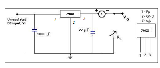 ic applications and hdl simulation lab notes  voltage regulator using ic 723  three terminal