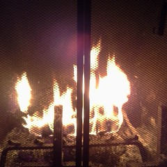 Day 27- I am thankful for the hearth, the center of the family home where the three of us (mostly) gather to relax and enjoy its warmth. #fmsphotoaday
