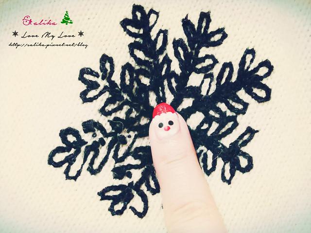 中山站聖誕節美甲光療指甲 (18)