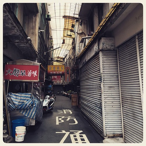 An alley in Caotun. #Taiwan #nantou #caotun #alley