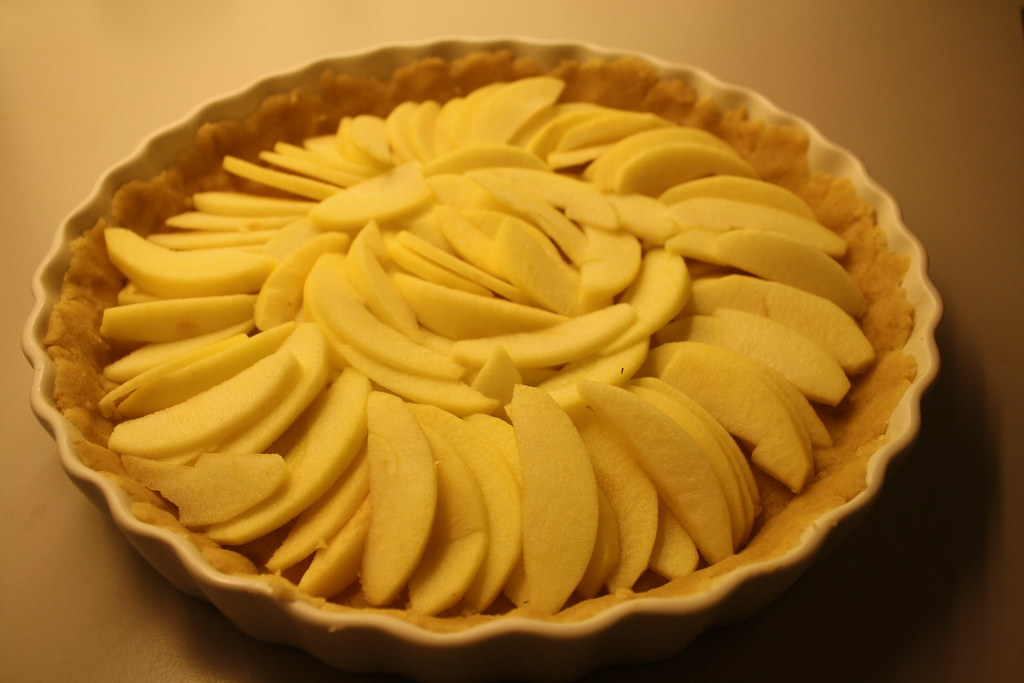 Æbletærte med karamelbund (5)