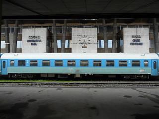Bulgarian State Railways - Bmp car (16.04.2010)