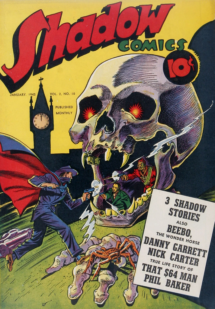 Shadow Comics V2#10 (Street & Smith, 1943)
