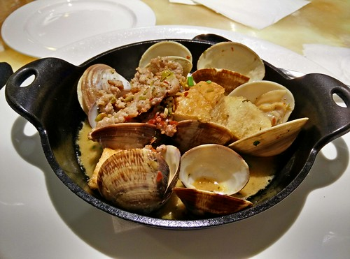 Clams and Fennel Sausage