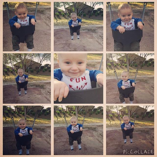 Swinging is fun, fun, fun!! by bartlebaby