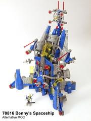 Benny's Spaceship Alternative MOC