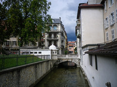 Tiny canal passage