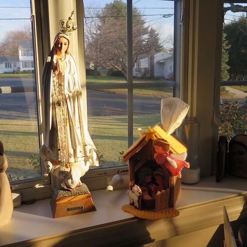 Golden light on this first morning of December
