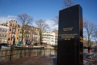 2015-01-24 NL Amsterdam 30 - Monument to the Jewish Resistance
