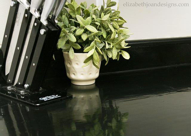 Gloss Paint Counter Tops