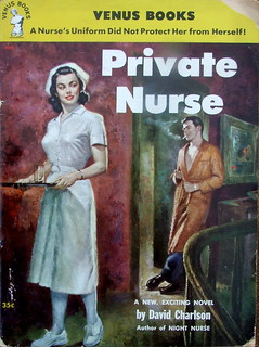 Private Nurse - Venus Book - No 163 - David Charlson - 1953